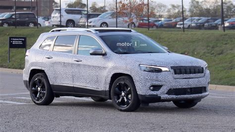 New Jeep 2018 by 2018 Jeep Spied Showing Its Redesigned Headlights