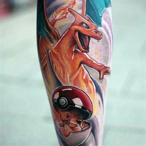 charizard tattoo 60 charizard designs for ink ideas