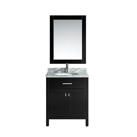 Design Element London 30 In W X 22 In D Makeup Vanity In | design element london 30 in w x 22 in d single vanity in