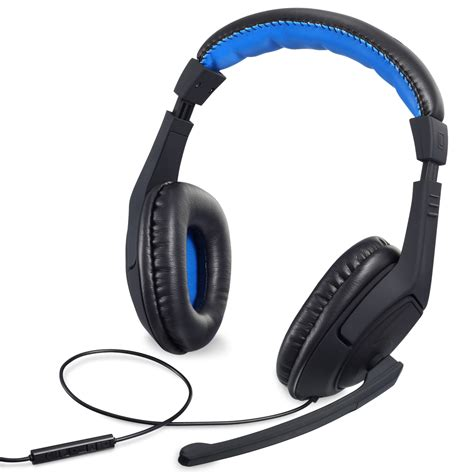 Headset Ps4 fosmon ps4 xbox nintendo switch pc stereo 3 5mm wired gaming headset headphone ebay