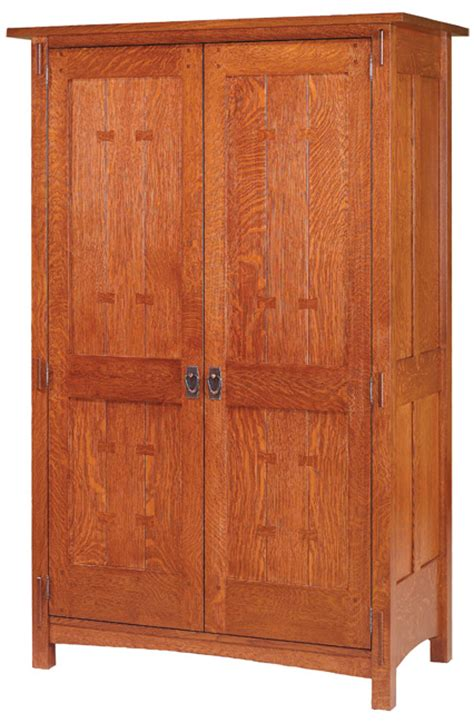 mission style armoire post mission armoire amish furniture designed