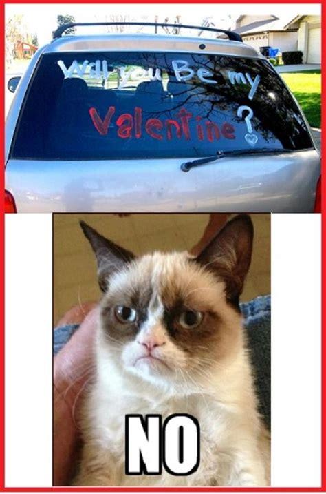 Grumpy Cat Meme Valentines Day - grumpy cat will you be my valentine grumpy cat