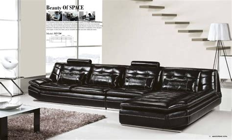 Low Price Living Room Furniture Sets Luxury Italian Top Grain Leather 3 7m Length L Shaped Sofa Set Luxury And Low Price High Quality