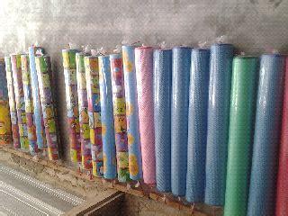 pelangi karpet sponge sponge berbagai motif
