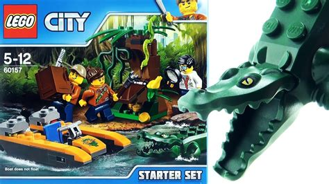 lego city jungle boat lego city jungle explorers jungle starter set 60157 lego
