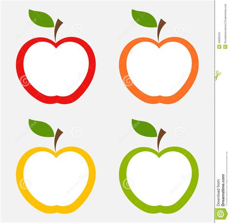 free printable label templates for mac apple labels stock vector image of orange freshness