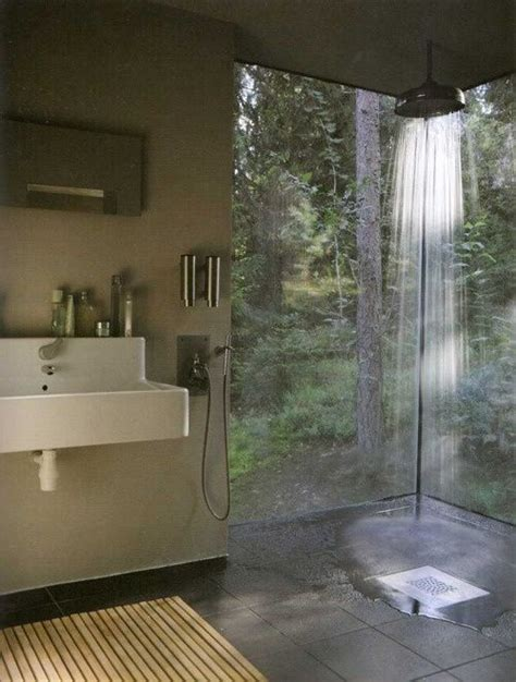 Indoor Outdoor Shower by Indoor Outdoor Shower Room By Roji All About Home Decor