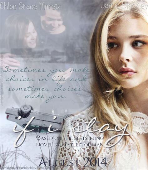 if i stay if i stay fanmade poster if i stay fan 36948083