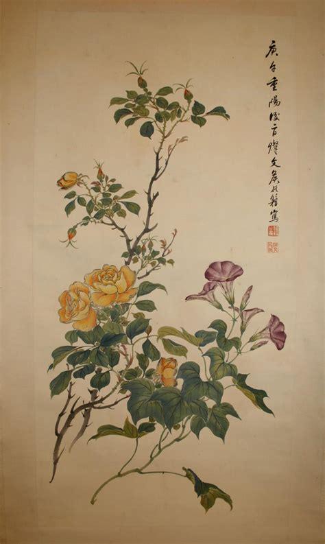 fiori cinesi dipinti fiori cinesi dip 2466 fiori dipinti e foto