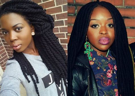 black hairstyles yarn braids natural black hairstyles 2017 trends one has to know now
