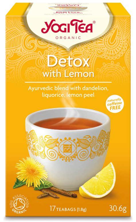 Pukka Detox Tea With Lemon by Yogi Ayurvedic Organic Detox Tea With Lemon 17 Bags