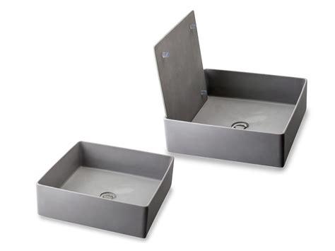 lavelli in vetroresina lavandino in resina modello trabocchetto grey di cip 236