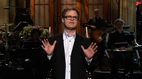 From Last Nights Saturday Live With Rainn Wilson by Monologue Rainn Wilson On The Differences Between