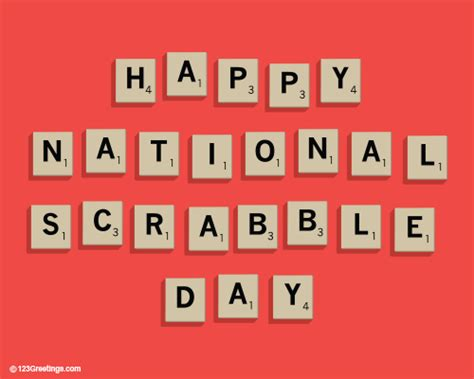 scrabble day national scrabble day cards free national scrabble day