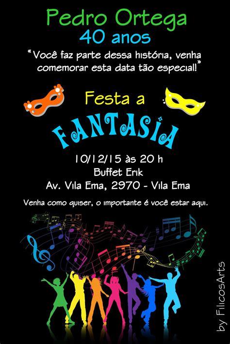 Modelo De Convite Para Festa Convites Para Festa Junina Convite Festa 224 Fantasia Filicosarts Elo7