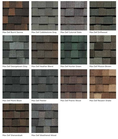 certainteed landmark colors olde town roofing 309 738 5550 roofing siding
