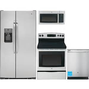 brandsmart kitchen appliance packages ge gss25csh stainless steel complete kitchen package
