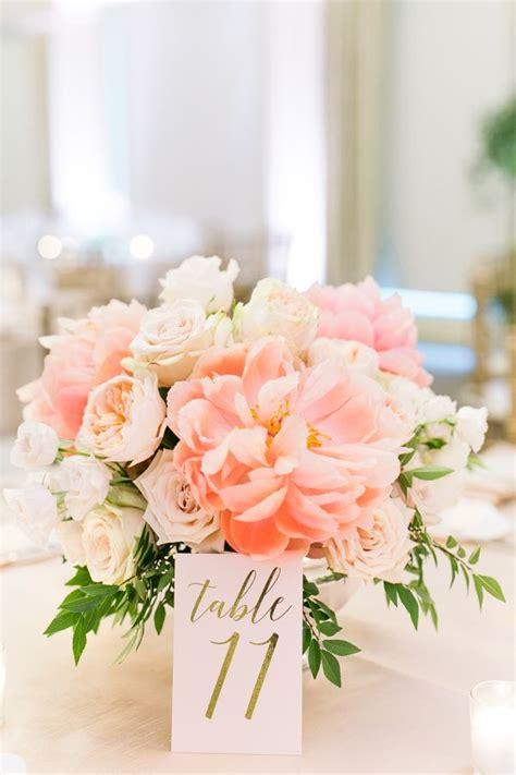 flower table arrangements ideas best 20 peonies wedding centerpieces ideas on