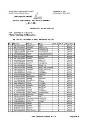 resultat concour ifm mali 2012.pdf notice & manuel d