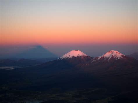 pomerape volcano  bolivia thousand wonders