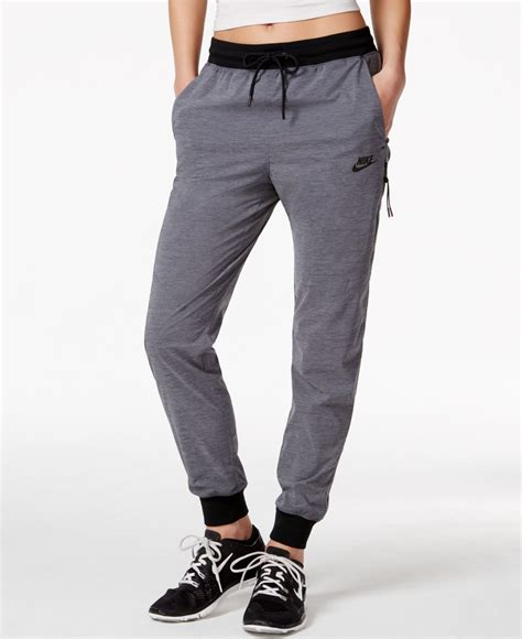 As Nike Bonded Woven Pant nike bonded woven in blue lyst