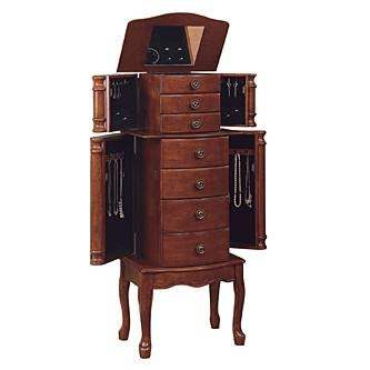 Powell Classic Cherry Jewelry Armoire by L Powell Quot Classic Cherry Quot Jewelry Armoire