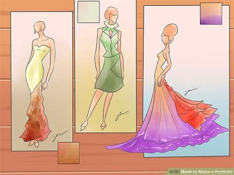 design clothes wikihow how to make a portfolio with pictures wikihow