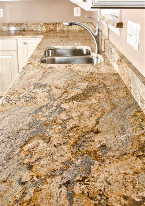 Yellow Countertop by Yellow River Granite Modern Kitchen Countertops Dc