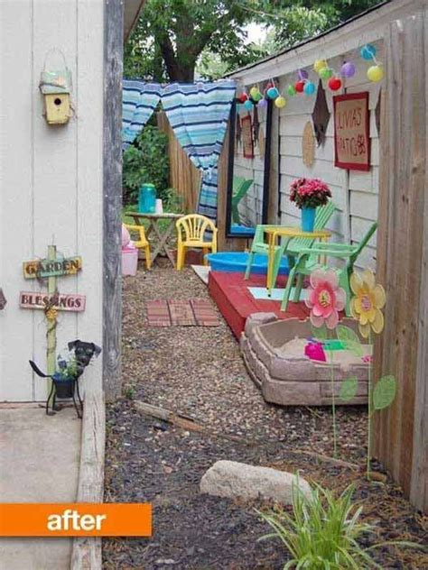 kid friendly backyard 18 clever design ideas for narrow and long outdoor spaces