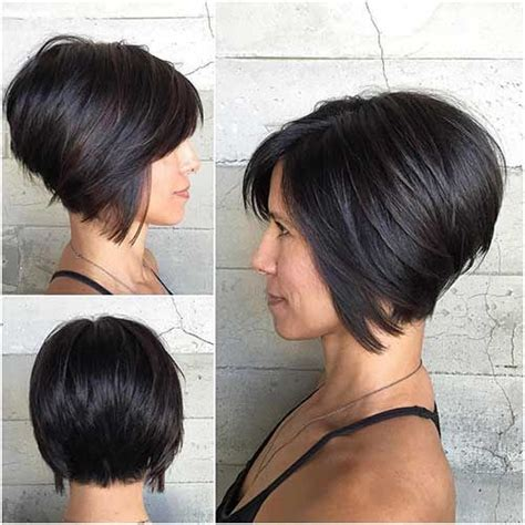 graduated bobs for long fat face thick hairgirls 25 best ideas about short inverted bob on pinterest