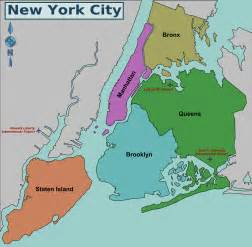 Where Is New York City On A Map file new york city district map png wikimedia commons