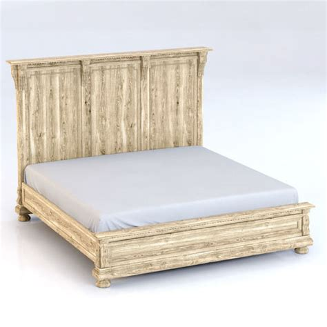 restoration hardware st king bed without footboard