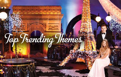 popular themes prom themes prom nite