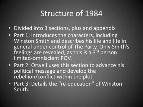 themes in 1984 power ppt 1984 george orwell powerpoint presentation id 5935221