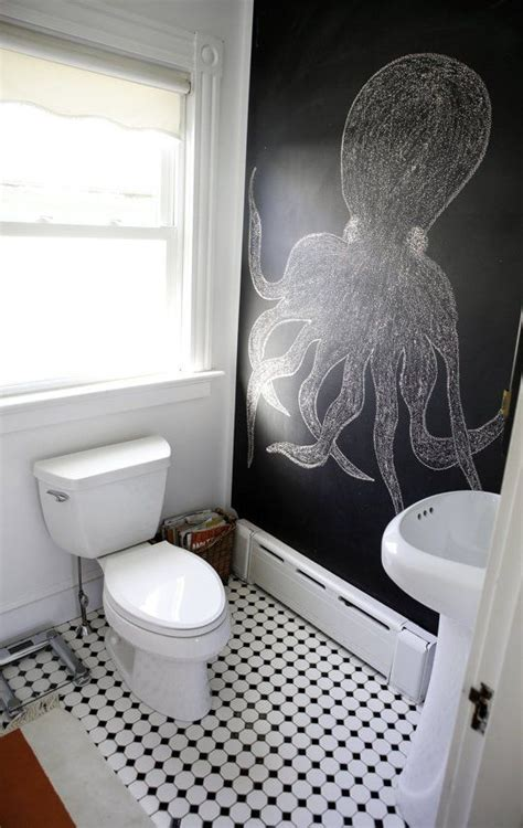 Unique Bathroom Decorating Ideas 21 Unconventional Chalkboard Bathroom D 233 Cor Ideas Digsdigs