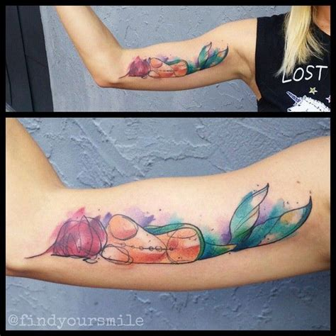 mermaid watercolor tattoo 25 best ideas about watercolor mermaid on