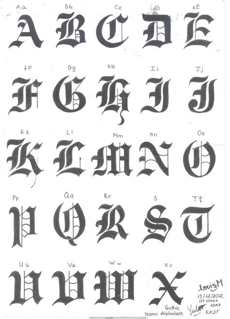 tattoo fonts m font pinteres