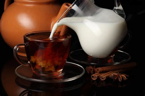 milk and tea may not be a mix