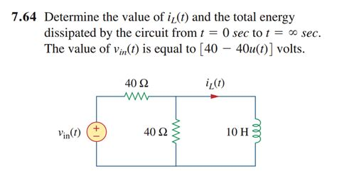 energy dissipation by inductor rl circuit physics forums the fusion of science and community