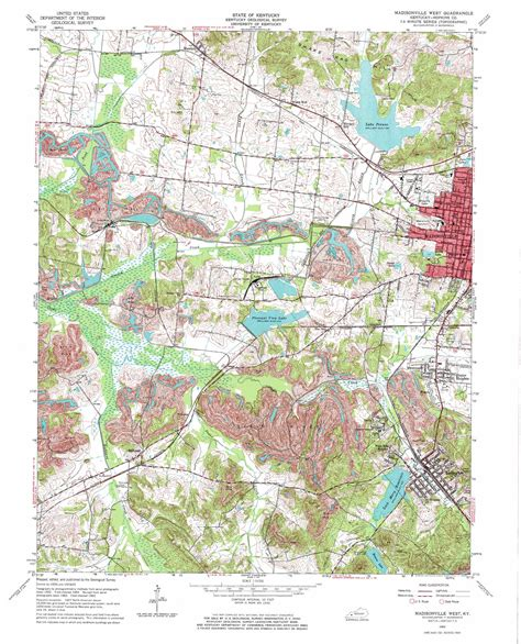 madisonville map madisonville west topographic map ky usgs topo 37087c5