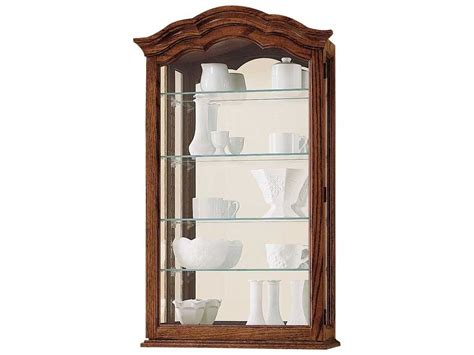 howard miller vancouver ii oak wall curio