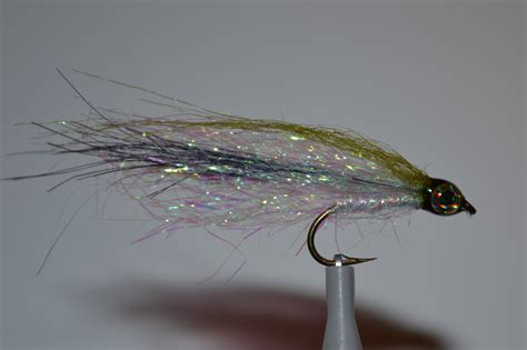 Handmade Flies - 3 emerald shiner flies handmade flies trout flies steelhead