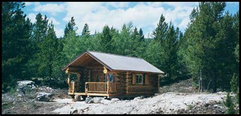 Rustic Log Home Plans Montana Mobile Cabins By Shotgun Construction