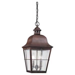 Outdoor Pendant Lights Sea Gull Lighting Outdoor 6062 Chatham Collection Pendant Traditional