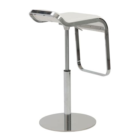 clover adjustable bar counter stool zuri