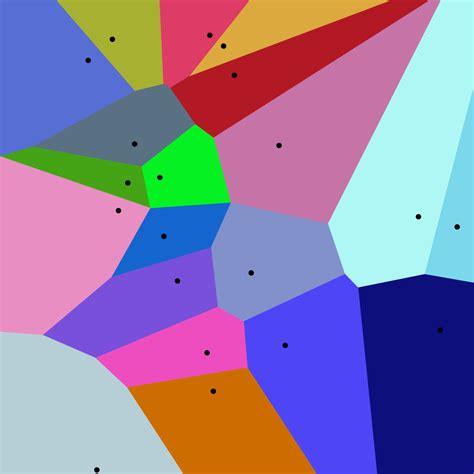 pattern area definition voronoi diagram wikipedia
