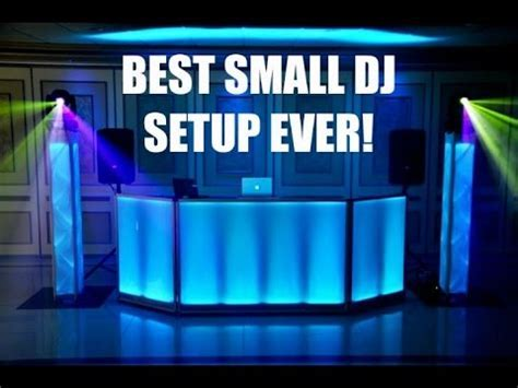 Best Small DJ Setup Ever!!!   YouTube