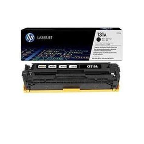 Jual Toner Hp 85a Berkualitas Murah 2 toner hp laserjet cf210a 131a black original pusat
