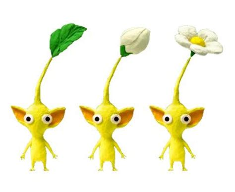 Pikmin Papercraft - listing directory content models pikmin