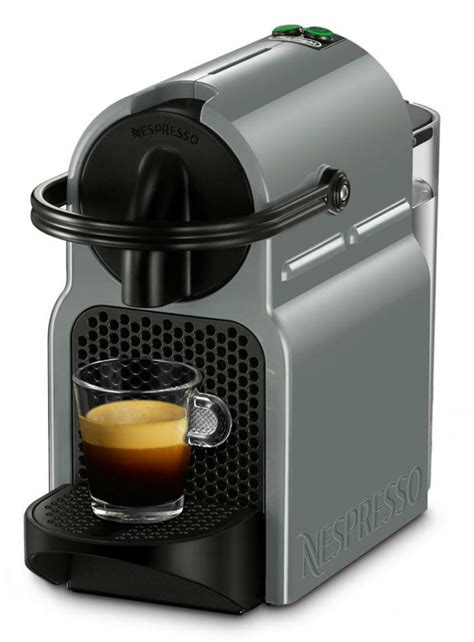 delonghi nespresso inissia en 80 gy gray capsule coffee machine genuine new ebay